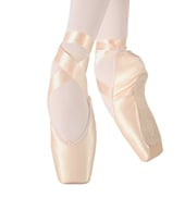 Womens Diva Suede Tip Pointe Shoes