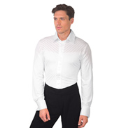 Mens Collared Long Sleeve Ballroom Leotard