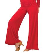 Womens Straight Leg Yoga Ballroom Pants