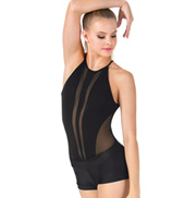 Adult High Neck Camisole Bodysuit