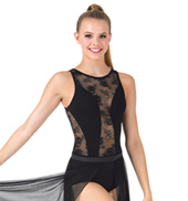 Adult Lace Tank Bodysuit