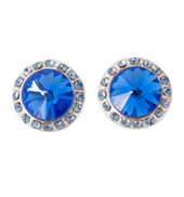10mm Post Royal Stone Earrings