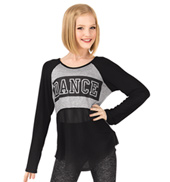 Girls Dance Long Sleeve Top