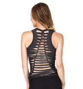Adult Shredded Back Tank Top