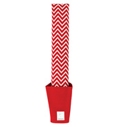 Red Chevron Arch & Foot Stretcher