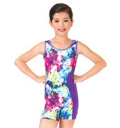 Girls Magic Spells Gymnastics Tank Biketard
