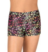 Girls Wild World Gymnastics Shorts
