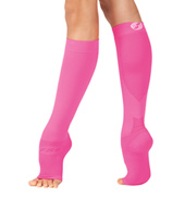 Adult Compression Foot Sleeve Plus Calf Sleeve - 1 Pair