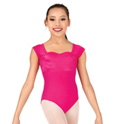 Girls Twist & Shout Short Sleeve Leotard