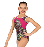 Girls Wild World Tank Leotard