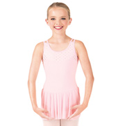 Girls Sweet Hearts Tank Dress