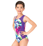 Girls Magic Spells Tank Gymnastics Leotard