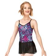 Girls Dreamy Petals Multi-Strap Camisole Ballet Dress