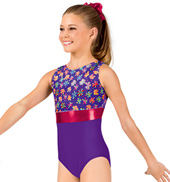 Child Ditsy Floral Tank Leotard