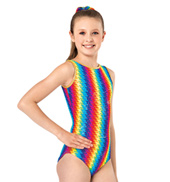 Child and Toddler Pixel Pop Tank Gymnastics Leotard