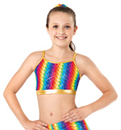 Girls Pixel Pop Camisole Bra Top