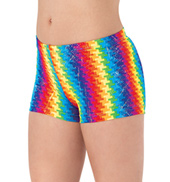 Girls Pixel Pop Shorts