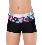 Girls Hologram Shorts