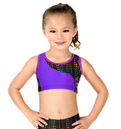 Child Matrix Tracer Racerback Bra Top