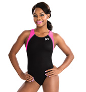 Girls GymTek Berry Breeze Tank Leotard