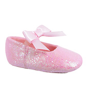 Glitter Baby Ballet Shoes
