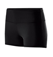 Ladies Wide Waistband Dance Shorts