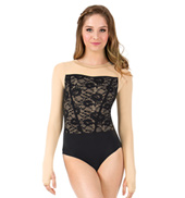 Adult Lace Long Sleeve Performance Leotard