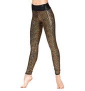 Adult Sequin High Waist Leggings