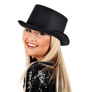 12-Pack Satin Top Hats