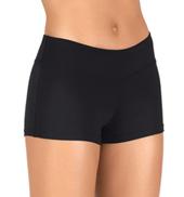 Womens Wide Waistband Running Shorts