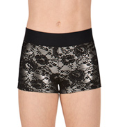 Girls Lace Overlay Shorts