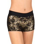 Adult Lace Overlay Shorts