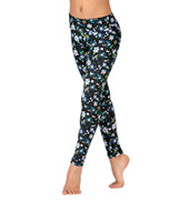 Child Printed Dance Leggings