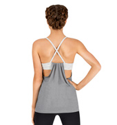 Womens Draped Camisole Fitness Top