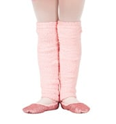 Girls Plush Legwarmers