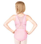 Girls Tati Knot Back Tank Leotard