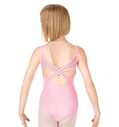 Girls Juliette Criss-Cross Camisole Leotard