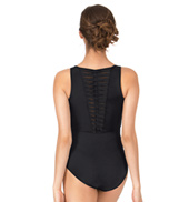 Adult Babette Spliced Twist Tank Leotard