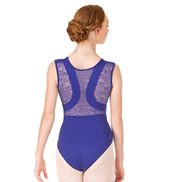 Adult Margaux Lace Back Tank Leotard