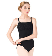 Adult Achemar Camisole Powermesh Mock Wrap Leotard