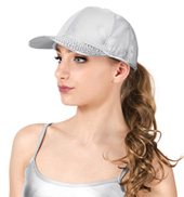 Studded Brim Dancer Baseball Cap