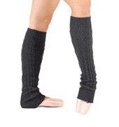 Adult Crochet Knit 22 Knee High Legwarmers