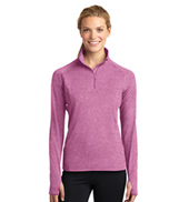Ladies 1/2 Zip Pullover Jacket