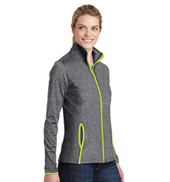 Ladies Full Zip Contrast Jacket