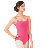 Adult Brushed Cotton Camisole Dance Leotard