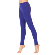 Adult Brushed Cotton Ankle Dance Leggings