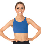 Adult Brushed Cotton Racerback Tank Dance Bra Top