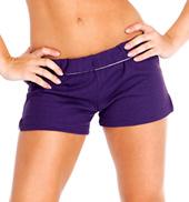 Adult Unisex Elastic Waist Dance Shorts