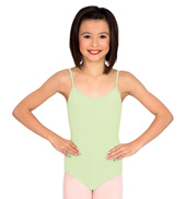 Child Cotton Camisole Leotard