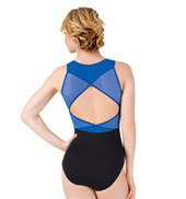 Womens Mesh Wrap Back Tank Leotard